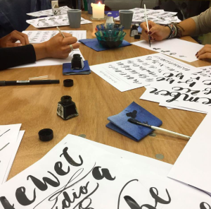 This weekend sees Paperchase is holding a Brush Lettering Workshop in its Tottenham Court Road flagship store.
