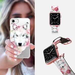 A watch and phone case that form part of the licensed range from Casetify.