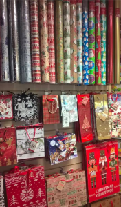 'Christmas roll wrap and gift bags are now in store. No need for 3 for 2's as our prices are so good without gimmicks' reads the post on Dragonfly's Facebook page.