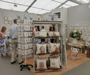 The Wrendale Designs' stand at Harrogate Home & Gift in July.