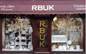 An arresting window display is part of the appeal of RBUK.