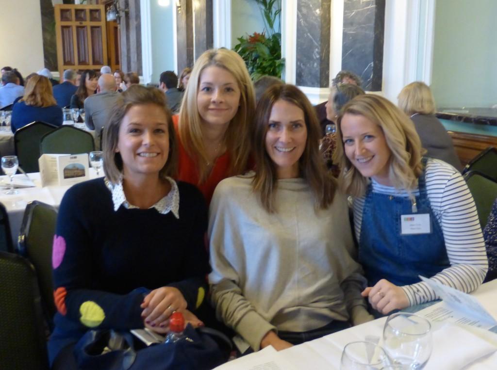(Right-left) Megan Purdie (Megan Claire), Bex Hassett (Bexy Hassett), Alexa Stretton (Always Sparkle) and Marina Brook (Marina B).