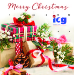 IC&G's indie retailer customers are receiving a chocolate Advent calendar with a message of thanks.