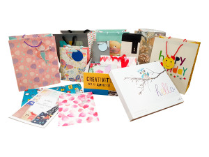 Hallmark's new collection of giftwrap will be on display at the 2018 roadshows