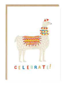 Julio the Llama, the party Peruvian from Jade Fisher.