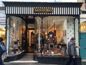 Santoro's shop in Bath.
