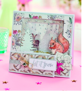 One of the Christmas cardmaking projects PaperCrafter included on its blog about Festive Friday.