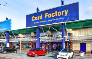 Card Factory continues to expand its retail footprint, including opening stores on retail parks.