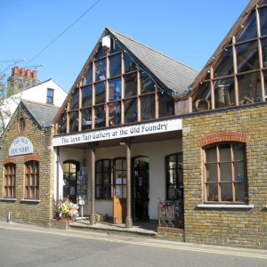 The Lynn Tait gallery in Leigh