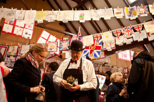An event held at the gallery for the Queen's 90th birthday