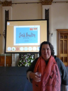 Sarah Hamilton spoke about Just a Card at the recent GCA AGM.
