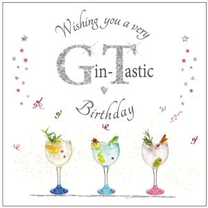 A delicious 'Gin-tastic' Rush Design card.