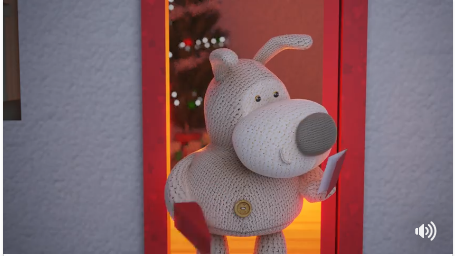 Boofle gets a Christmas card in UKG's adorable video on social media