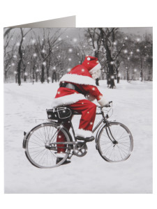 Santa is 12kg lighter than he was a decade ago, thanks in part to riding a bike perhaps?!