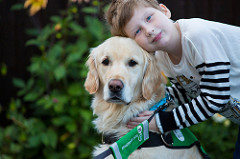 Dogs for Good received £5,000 to part-fund an assistance dog's training costs to benefit an autistic child on the waiting list for an assistance dog.