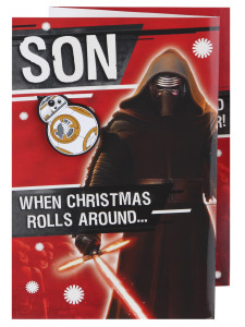 Anything goes at Christmas, even Darth Vader.
