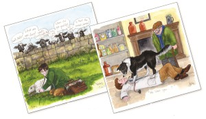 Some 10% of the revenue of Splimple's card collection will go to the James Herriot Foundation Trust, which supports student Veterinary Nurses in their vocational studies.