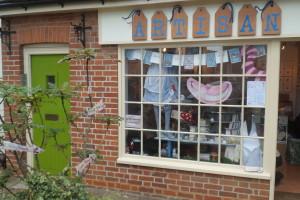 Grace's shop Artisan in Rochford, Essex.