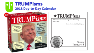 BrownTrout's Trumpisms page a day desk diary has been a huge success.