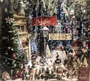 Brambles' gorgeous Christmas window.