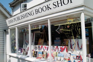 Diss Publishing Bookshop is a destination shop for those with an interest in countryside and arts and crafts, as well as books and cards.