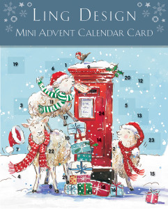 Mini Advent calendar cards also form part of the launch.