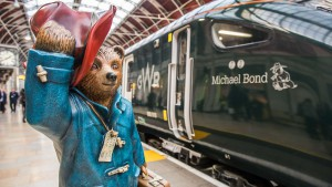 Great Western Railway named one of its trains after Michael Bond.