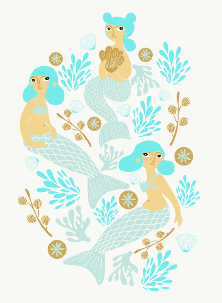 Mermaids will be joining the mythological stable in 2018. Artwork available from image library Advocate.