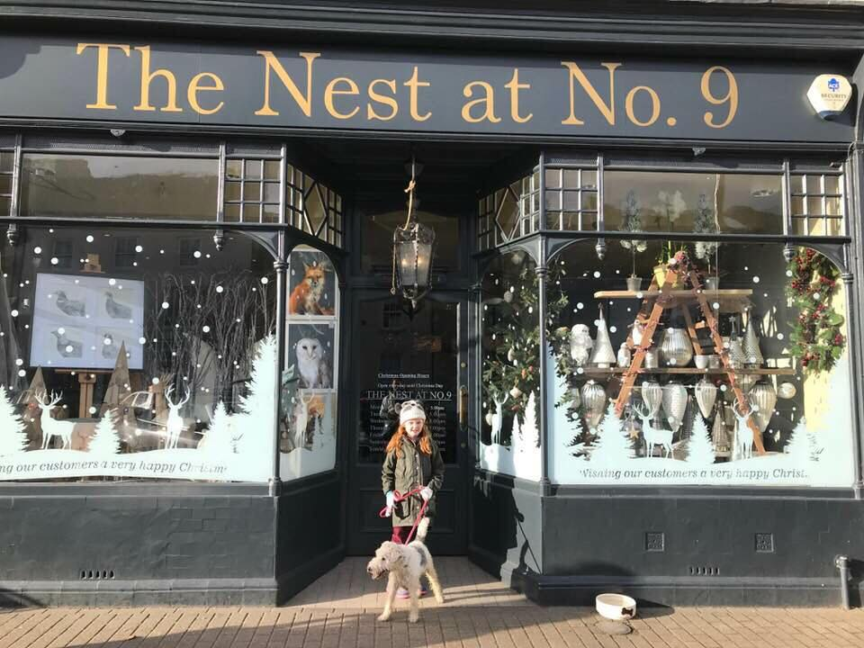 The Nest at No. 9 in Olney was one of Sainsbury's Carly Pearson's favourite shops.
