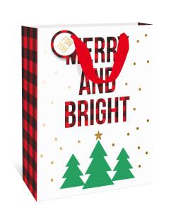 A Graphique Christmas gift bag.