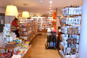 Waterstones' card department in its flagship store in London's Piccadilly.