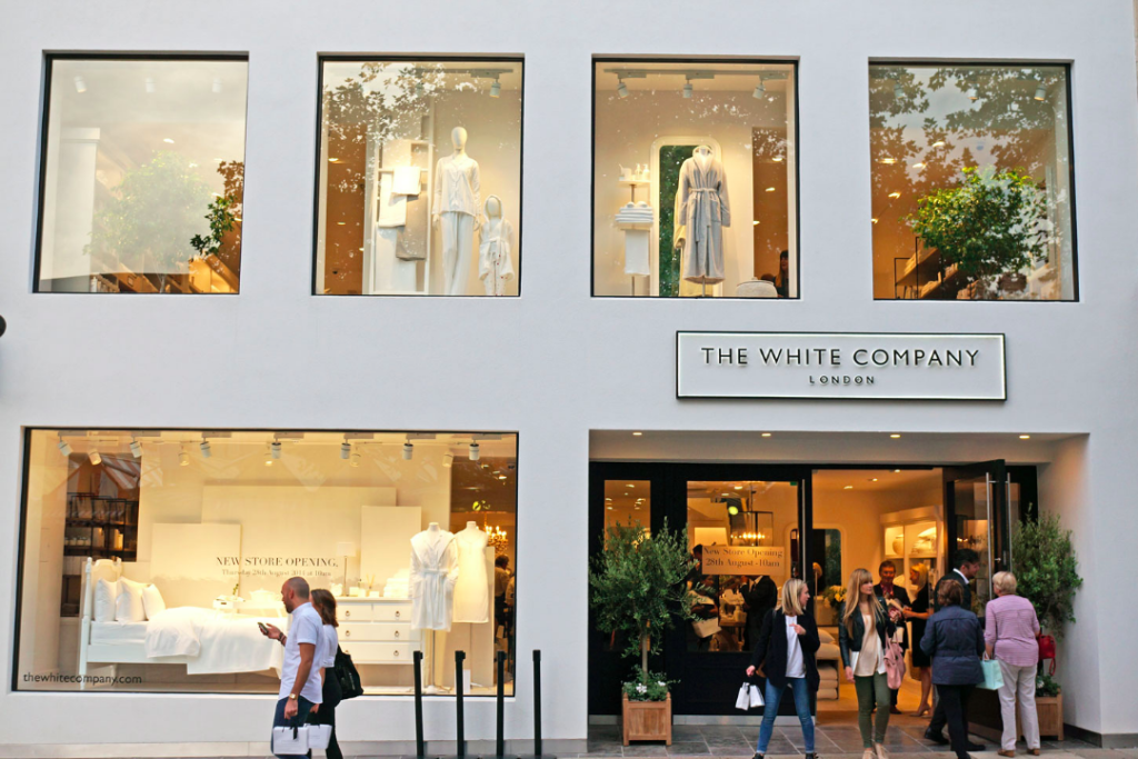 The White Company's style and substance does it for Jo Barber.