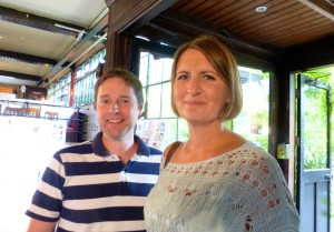 Sarah and Paul Henderson, co-owners of 3 Wishes.