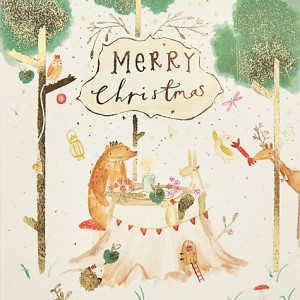 John Lewis scored proportionally better on its packaged Christmas cards than singles.