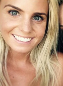 New assistant buyer for stationery, Lizzie Batchelar.