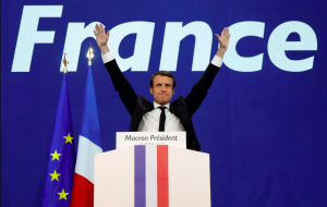 French President, Emmanuel Macron offering to loan the Bayeux Tapestry to the UK, ignited media interest in Woodmansterne's spoof range, Hysterical Heritage.