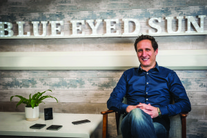 Blue Eyed Sun's Jeremy Corner says that the publisher shares similar brand values to chocolate company, Willie's.