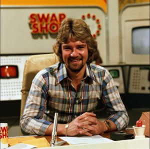 Remember Noel Edmonds Multi-Coloured Swap Shop? Alison does!