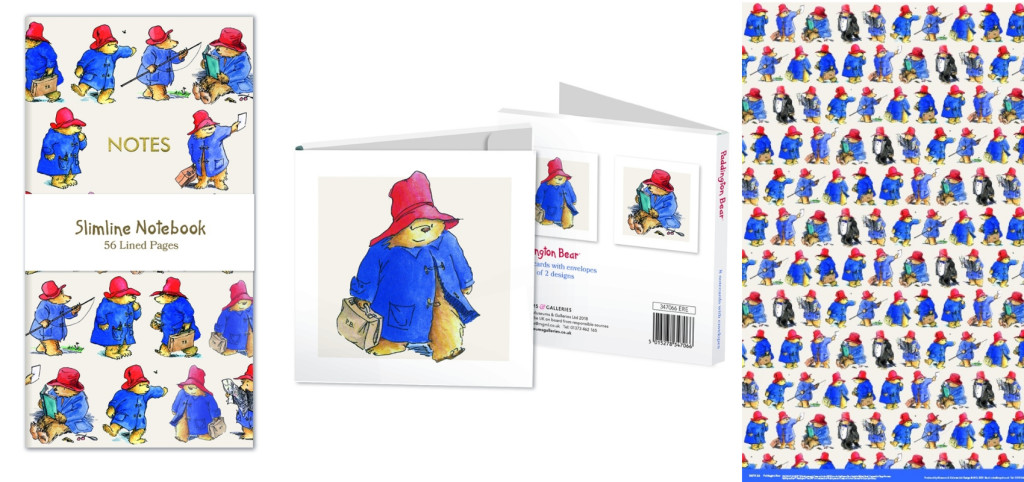 Museums and Galleries range includes cards, wrap and stationery featuring illustrations from the original illustrator Peggy Fortnum.