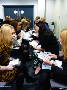 This April's Speed Dating with Dragons 2 will follow the same format – publishers pitching to to retailers.