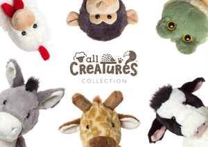See the entire range of the new All Creatures at Spring Fair.