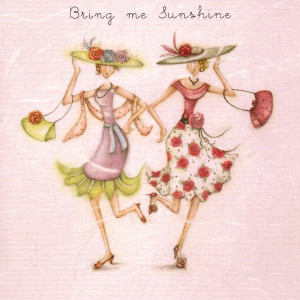 Fun designs feature in the Ladies Who Love Life range from Berni Parker.