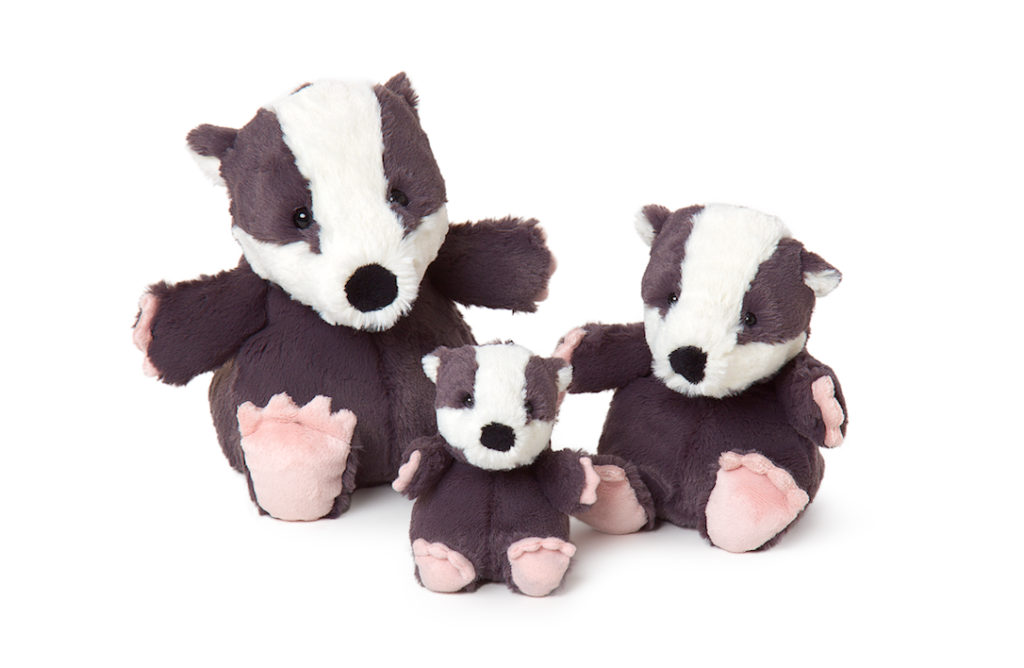 Badgers in from the All Creatures range.