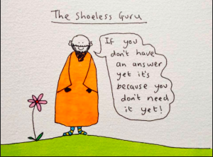 The Shoeless Guru has yet to make it onto the Danilo cards.