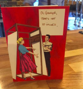 At the Scribbler PlayDate event, daters were asked to complete captions on Scribbler cards.