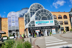 The airy Business Design Centre is the ideal home to PG Live, the only trade show dedicated to greeting cards.