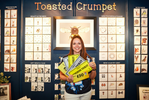 During the exhibitor meeting, Jakki Brown will talk about the much coveted Gold, Silver and Cardgains tickets that some retailers have to spend with exhibitors, such as Toasted Crumpet last year.