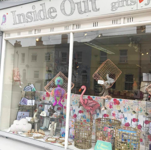 Inside Out in Cheltenham has some beautiful cards and gifts.