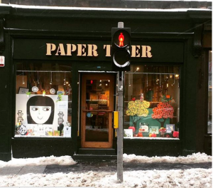 'Cabin fever' had Edinburgh residents escaping to Paper Tiger!