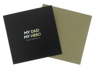 One of the new cards in the Hero men's gifting range.